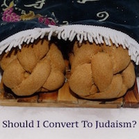 Should I Convert To Judaism? (Rabbi Patrick) : Podcast Class ~ $3.00